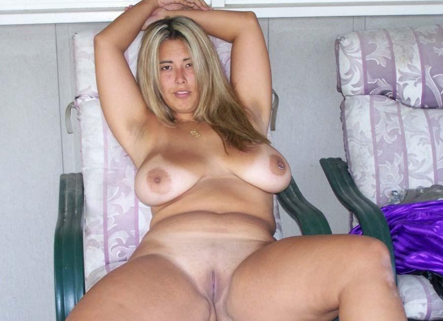 Slutty chubby woman