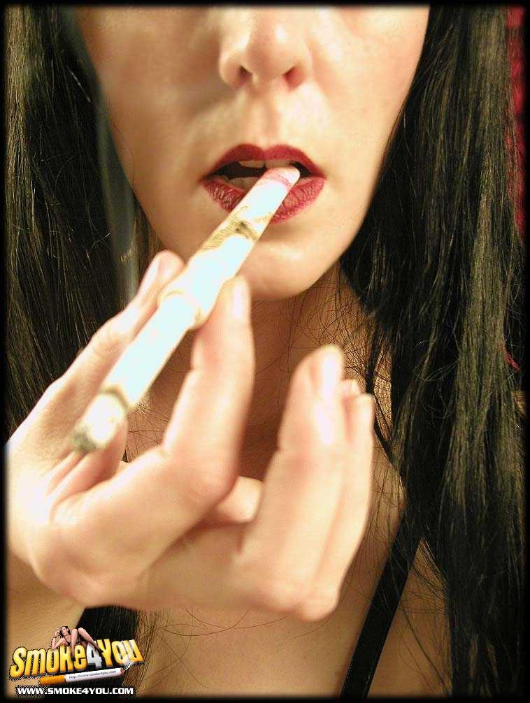 People Sexy smoking lipstick Convention